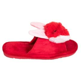 Bona Bunny pantofle červená
