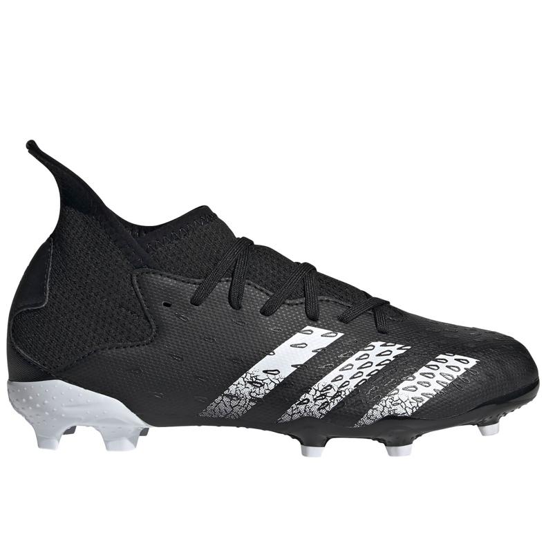 Kopačky Adidas Predator Freak.3 Fg Junior FY1031 černá černá