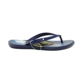 Válečné loďstvo Navy blue žabky dětské boty žabky Rider 1307