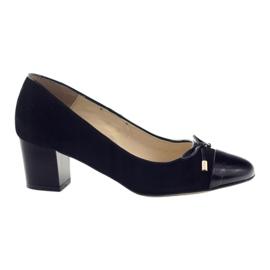 Černá Čerpadla s lukem Sagan 2275 dámské boty černé