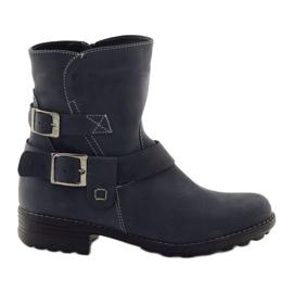 Dámské zimní boty Gregors 544 tmavě modré
