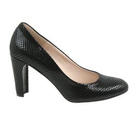 Černé boty Black Sagan 2600 černá