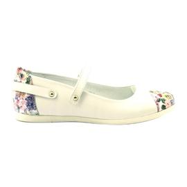 Baleríny dívky kytky Bartek bílé vícebarevný bílá