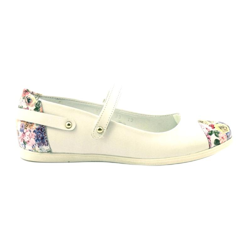 Baleríny dívky kytky Bartek bílé bílá vícebarevný