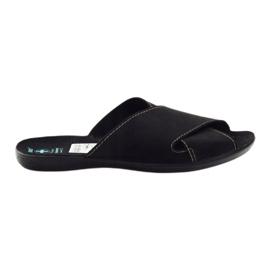 Pánské pantofle Adanex 20310 černá