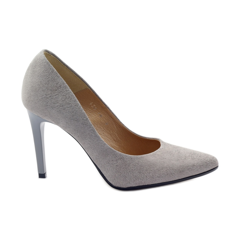 Dámské boty Espinto 456/48 šedé šedá