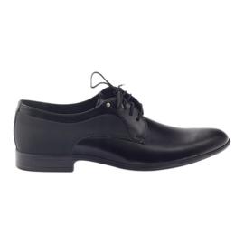 Pánské klasické boty TUR 296 černé černá