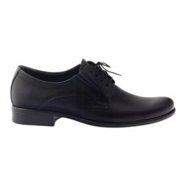 Pánská klasická obuv TUR 308 černá