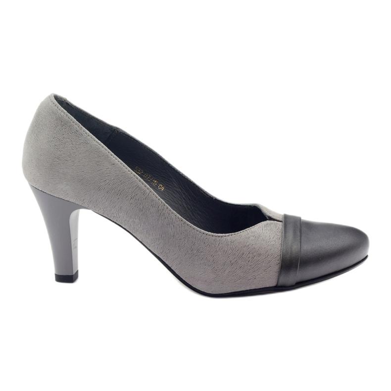 Šedé boty Espinto 532/1 šedá