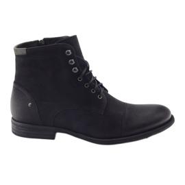 Černá Boty zimní boty Pilpol C831 černé