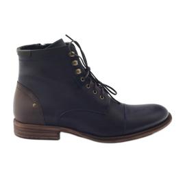 Pánské zimní boty Pilpol C831 tmavě modré