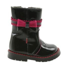 Dívčí boty Zarro 87 / černá růžová