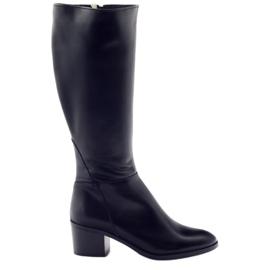 Vysoká podpatky Anabelle 1180 černá