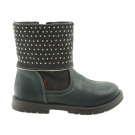 Dívčí boty Zarro 94/09 šedé trysky šedá