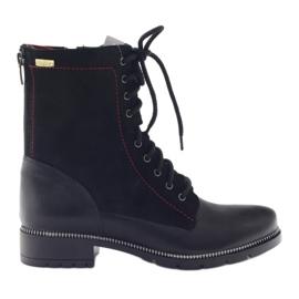 Boty dámské boty Kazkobut 2809 černé