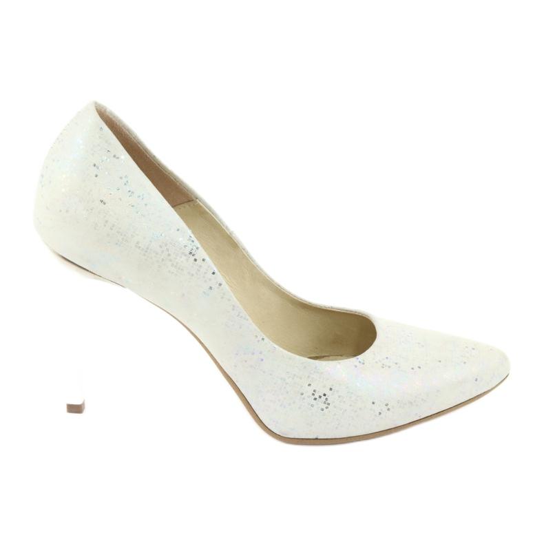 Espinto 456/96 dámské boty bílé bílá vícebarevný