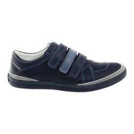 Chlapčenské boty, suchý zip Bartuś, námořnický modrý