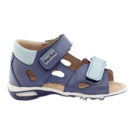 Chlapčenské sandály, řepky Bartuś modrá