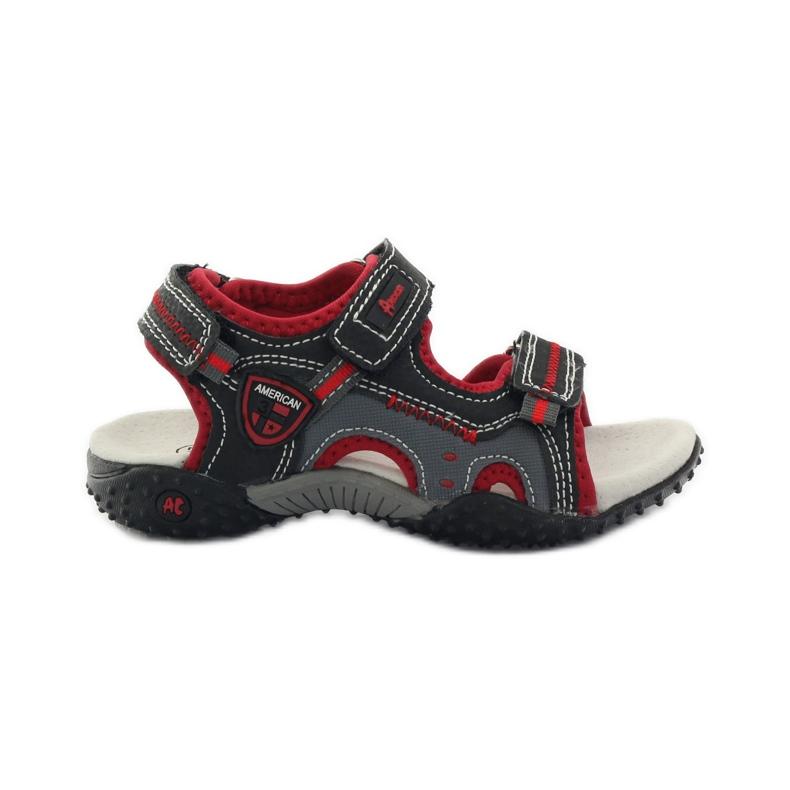 American Club Americké sportovní sandály na suchý zip 1614