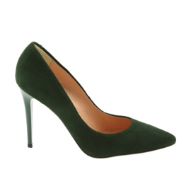 Espinto Čerpadla na zelené Stiletto zelená