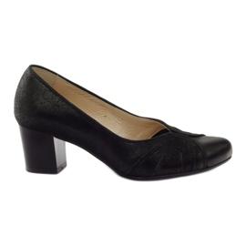 Černá Dámské boty Espinto tęg G1 / 2 černé