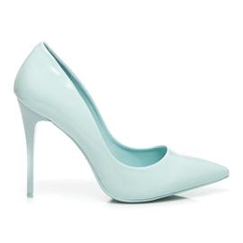 Vices Klasické vysoké podpatky modrý