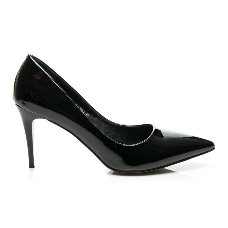 Yes Mile Klasické dámské vysoké podpatky černá