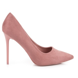 Suede VICES růžový