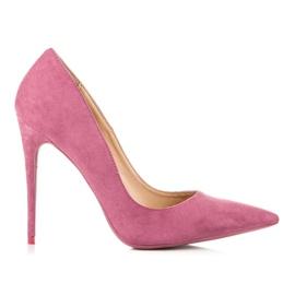 Betler Čerpadla na podpatku růžový