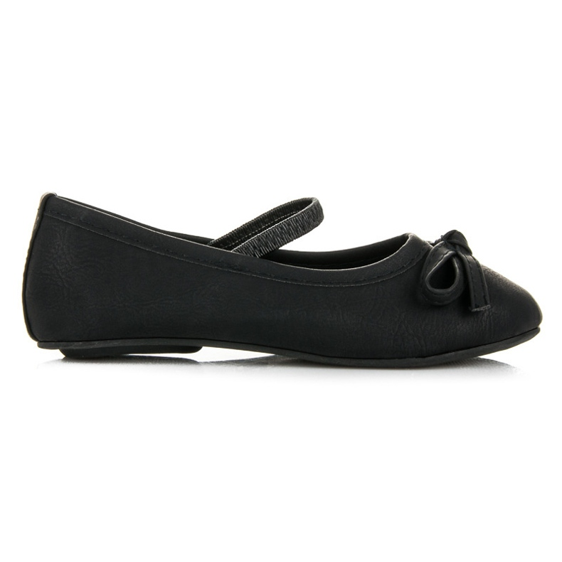 Černé baletky černá