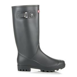 Seastar Vysoké boty značky Wellington šedá