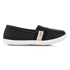 Bella Star Dívčí textilní obuv černá