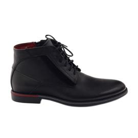 Černá Kotníkové boty Pilpol PC6007 černé