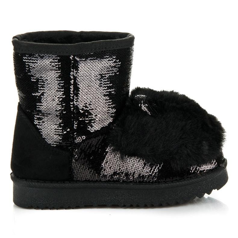 Kylie Sněhové boty s ušima černá