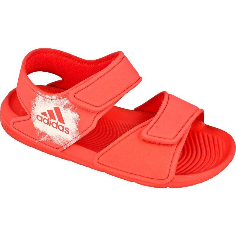 30c2127ecbc0f Růžový Sandály Adidas AltaSwim Jr BA7849 - ButyModne.pl