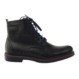 Kotníkové boty Nikopol 660 černé