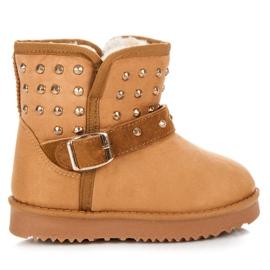 Kylie Sněžné boty s tryskami hnědý