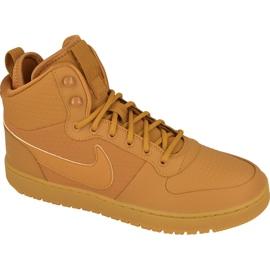 Hnědý Boty Nike Sportswear Court Borough Mid Winter M AA0547-700