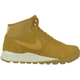 Hnědý Zimní boty Nike Hoodland Suede M 654888-727
