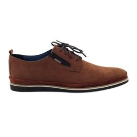 Hnědý Pánské boty Badura 7758 hnědá