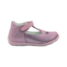 Ren But Ren obuv 1467 heather ballerinas růžový