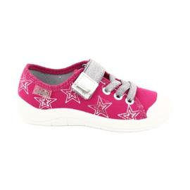 Dívčí tenisky pantofle s hvězdami Befado