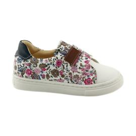 Dívčí boty na květiny Bartuś