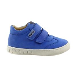 Modrý Chlapčenské boty na Velcro Bartuś