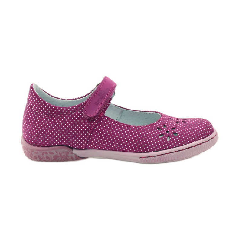 Dámské boty pro baleríny Ren But 3285 růžový bílá