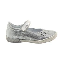 Šedá Dámské boty pro baleríny Ren But 3285