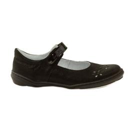 Černá Balerína dívčí boty Ren But 4351