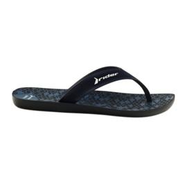 Pánské pantofle Rider 11073 tmavě modrá