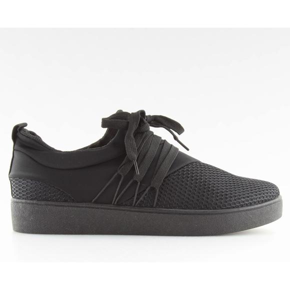 Černá dámská černá sportovní obuv NB186P
