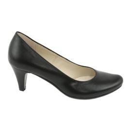 Gregors 465 obchodní obuv černá